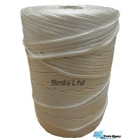 3mm White Braided Nylon Cord x 180m